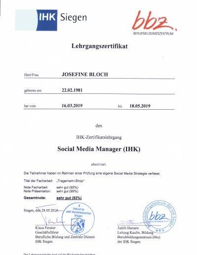 IHK Zertifikat 1